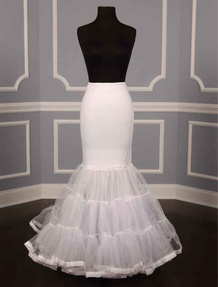 What type of petticoat is this model wearing? - 1