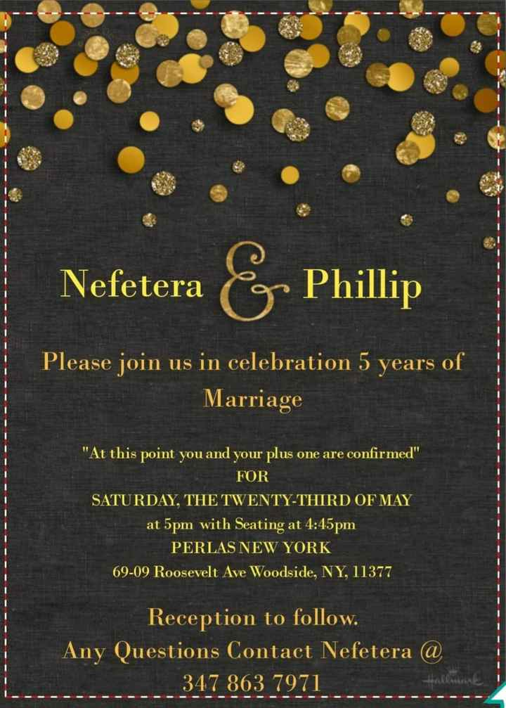 Invitations ordered, show me yours! 6