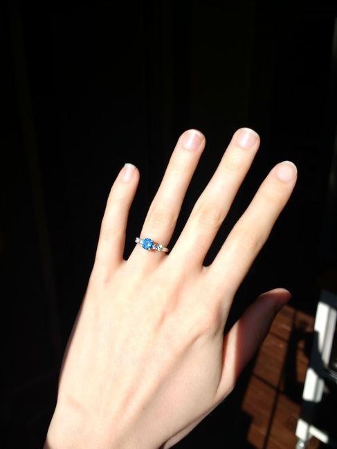 Show me your unique engagement rings! 5