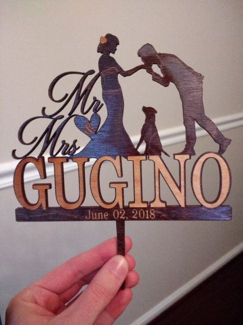 Excited About My Cake Topper!!! 2