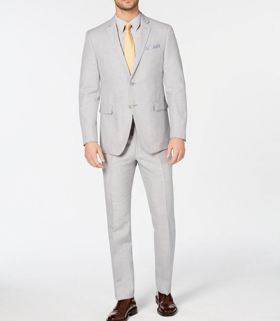 Groomsmen Suits - What Color? 6