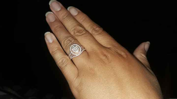 Show me your wedding ring set 10