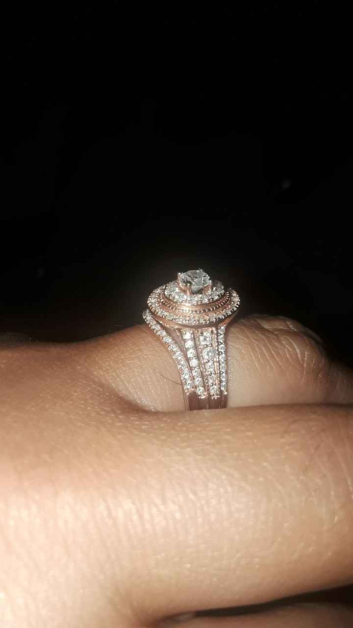 Show me your wedding ring set 12