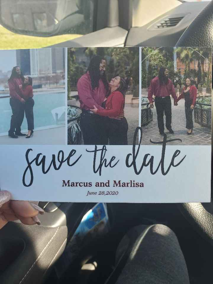 Save the Dates are in! Show us yours! - 1