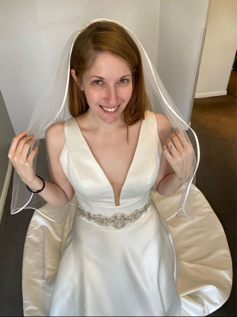 Got the dress! Now...jewelry? Hair? 3