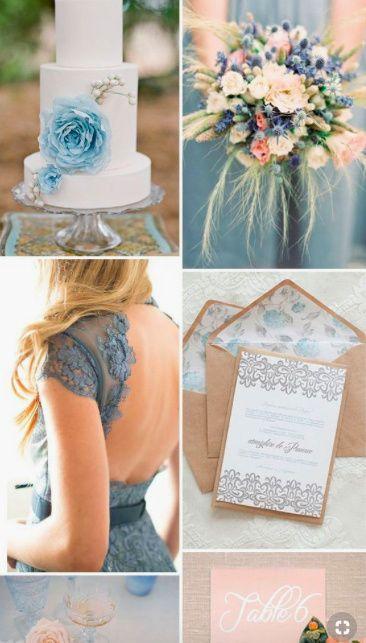 8caf7aa41b6 Dusty Blue Bridesmaids Dresses