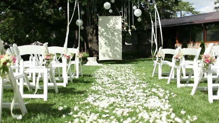 Rose Petals for Ceremony Aisle 1