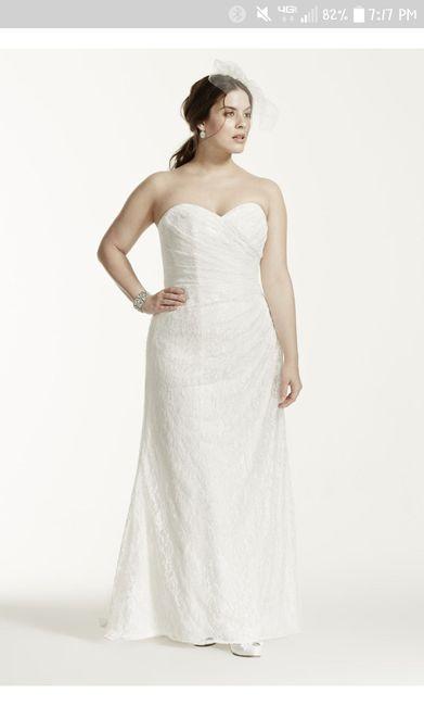 Show me your David's Bridal Dresses 4