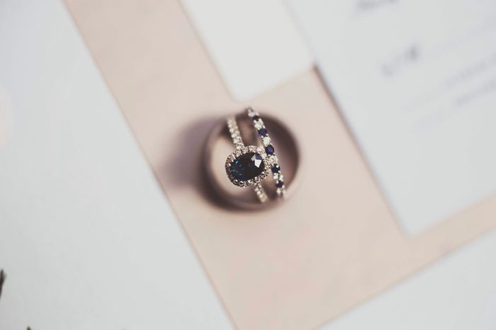 Who else has gemstones in their ring(s)?  Let's see them! 7