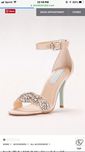 Curious what everyone's wedding shoes look like? 18