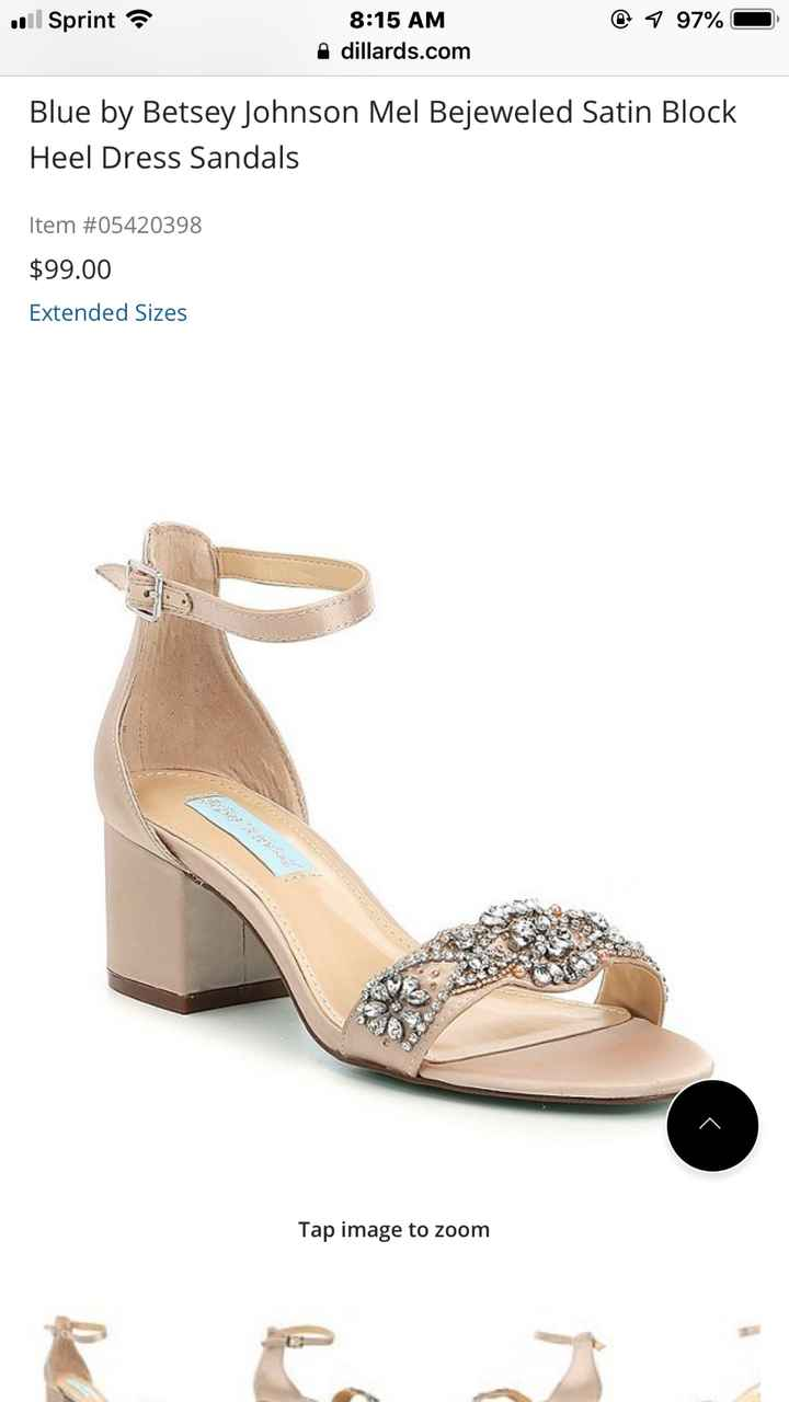 Shoes!! Let's see your wedding shoes. - 1