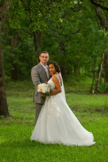 Forecasted rain on wedding day 4