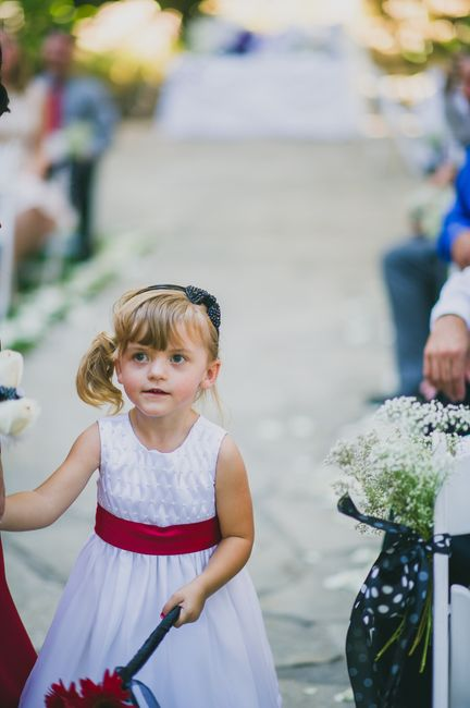 I need ideas for flower girl!! Please help!!!!