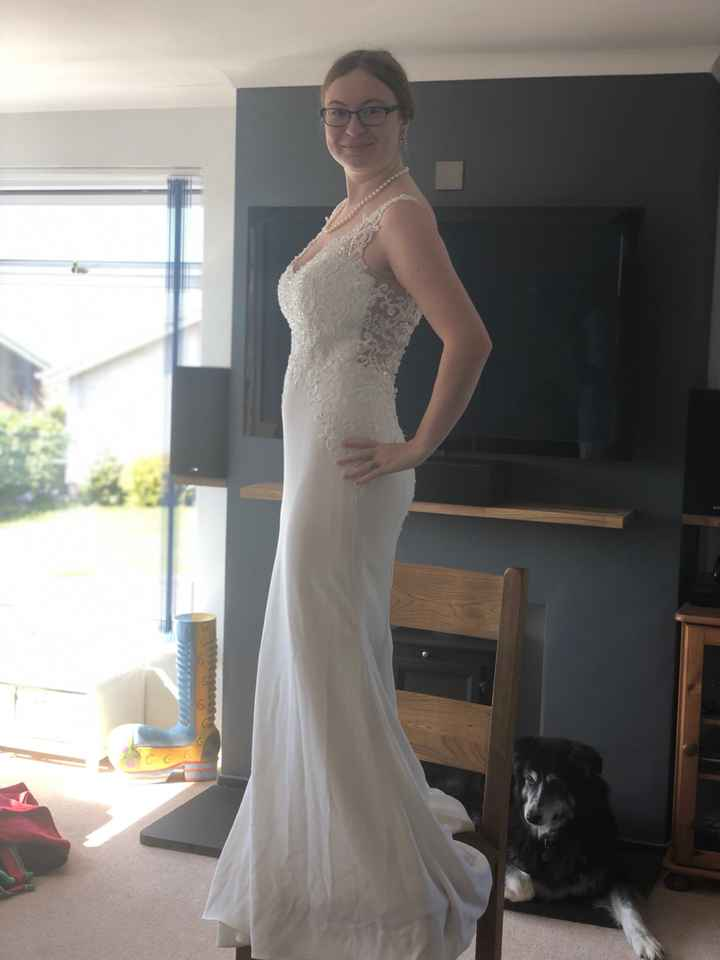Seamstress gone awol after last fitting a week before wedding! - 3