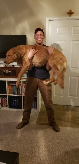 Show me your fiance and pet 3