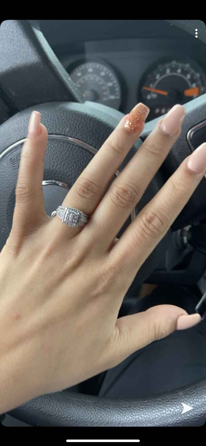 How many... months (or days!) have you been engaged? 1