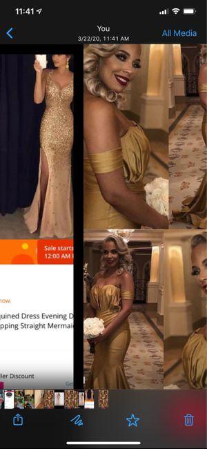 Bridesmaids & Maid of Honor Dresses - 1
