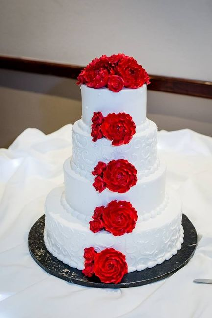 How many tiers in your wedding cake? 5