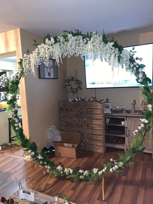 Decorated my first arch!!!! 1