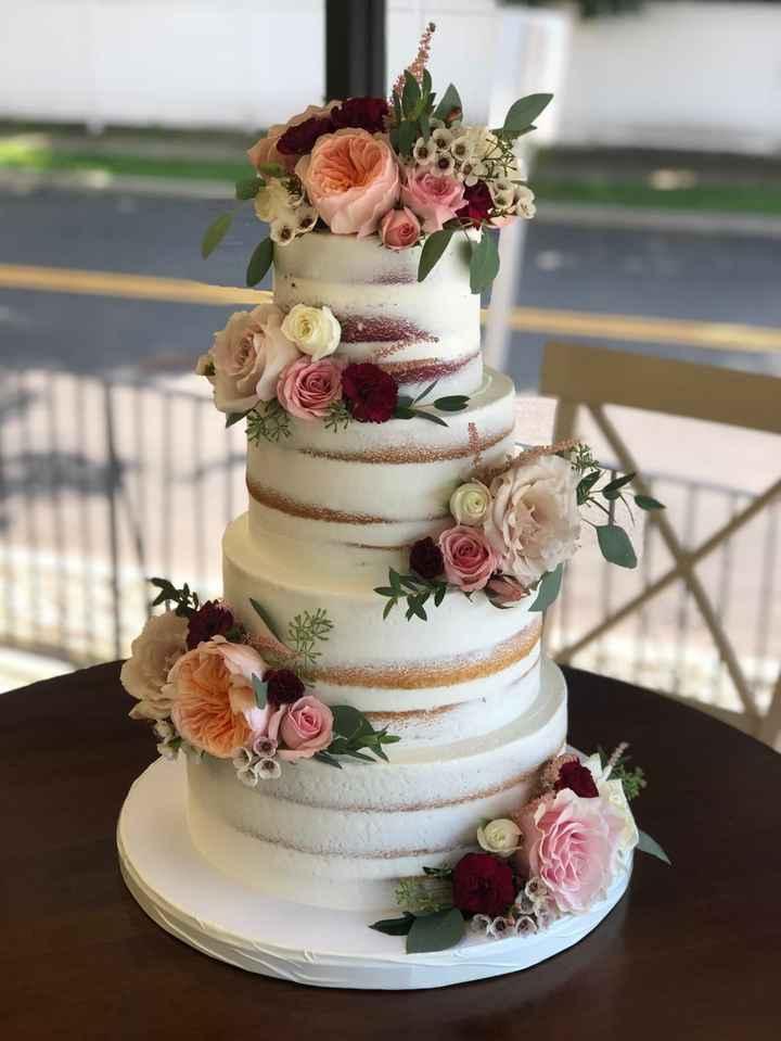 cascading florals