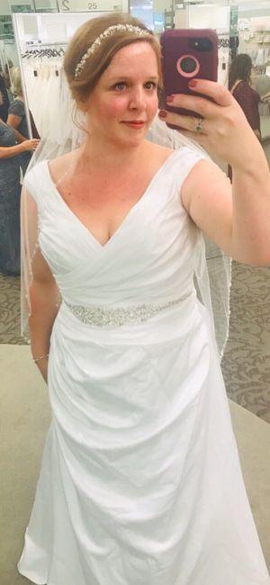 finally found my dress! 9