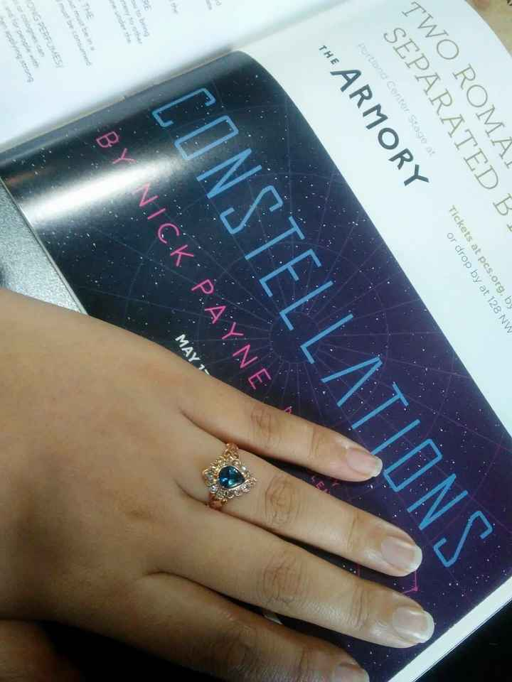 Rings other than diamonds - 1