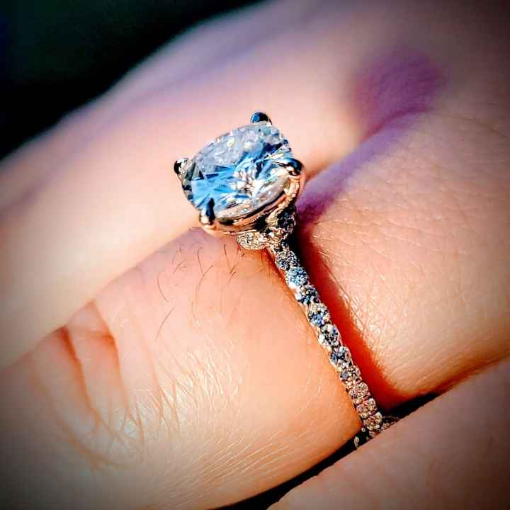 i want to see everyones rings. - 2