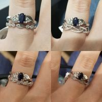 Help me pick a wedding band for my ring? - 1
