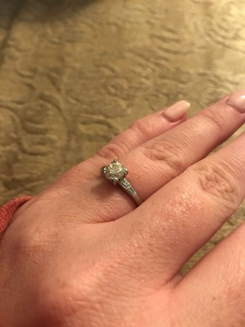 Vintage/antique/estate Rings - who else has one? 5