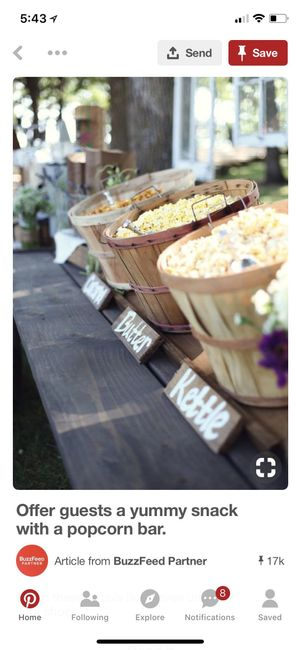 Popcorn Bar Containers Weddings Planning Wedding Forums