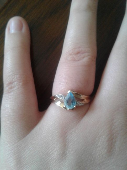 Does your engagement ring color mean anything? 9
