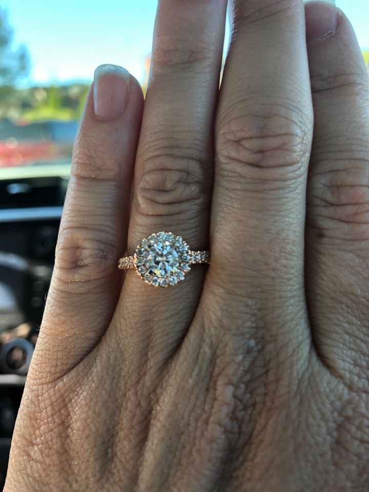 Can i see your engagement rings?? - 1