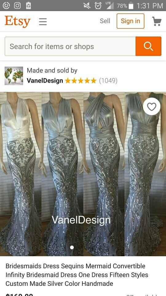 Bridesmaid Dresses!!!!!!! - 1