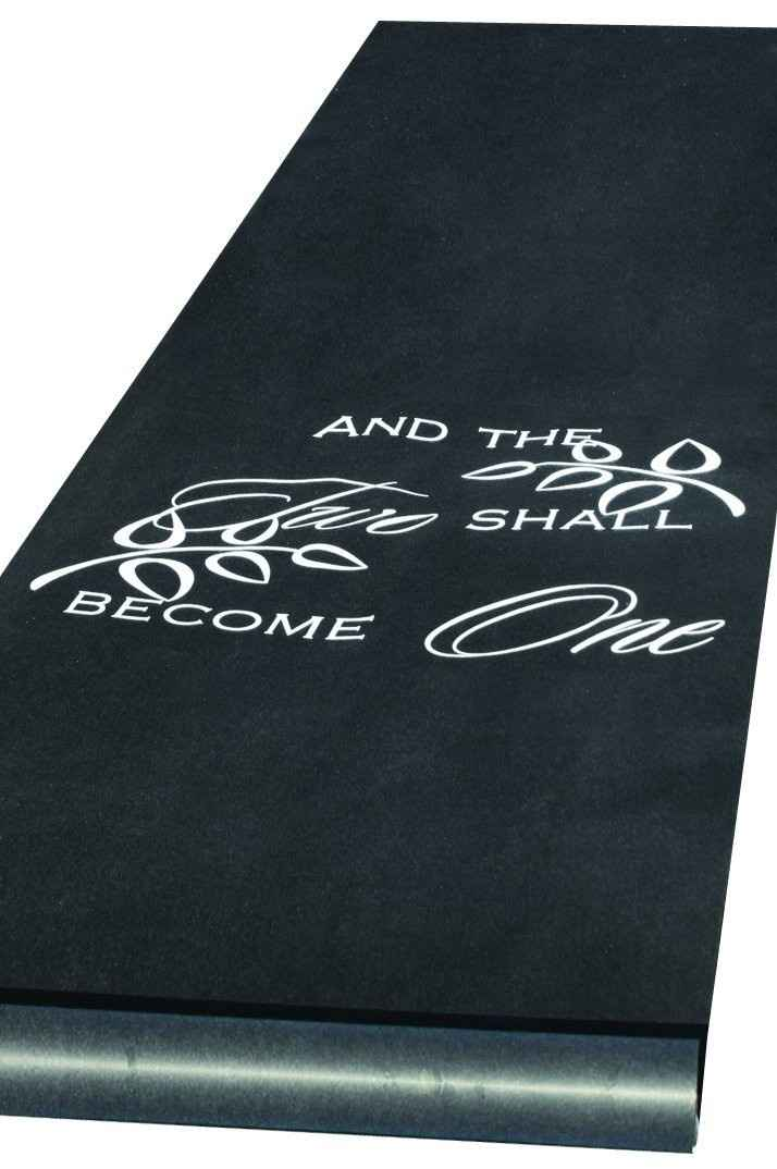 Aisle Runner and tripping.. is it true?!