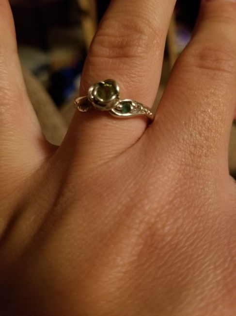 Who else has gemstones in their ring(s)?  Let's see them! 3