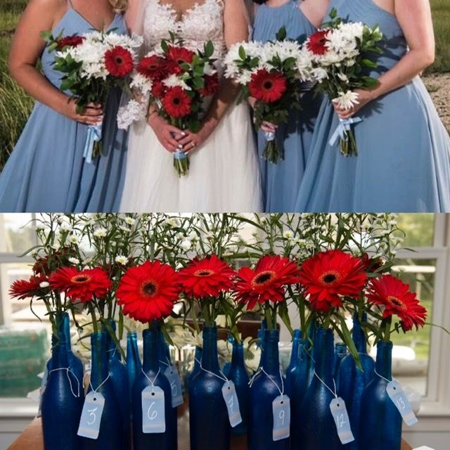 Steel Blue wedding - 1