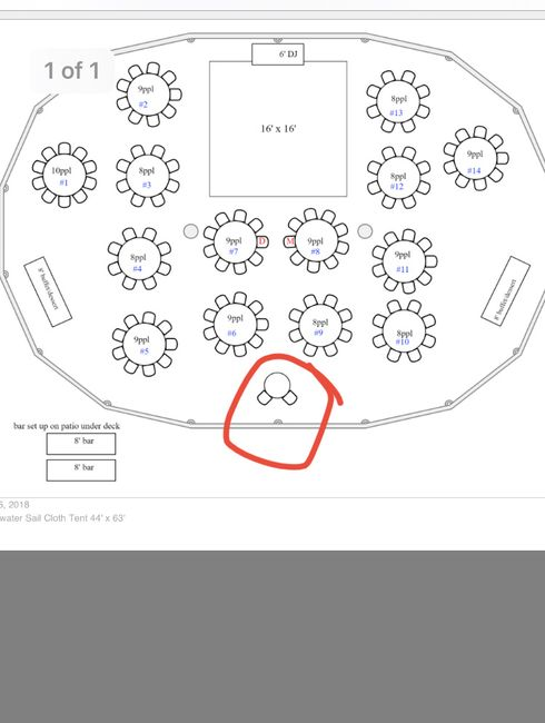 2 dining areas- Where B&g sit?? - 1