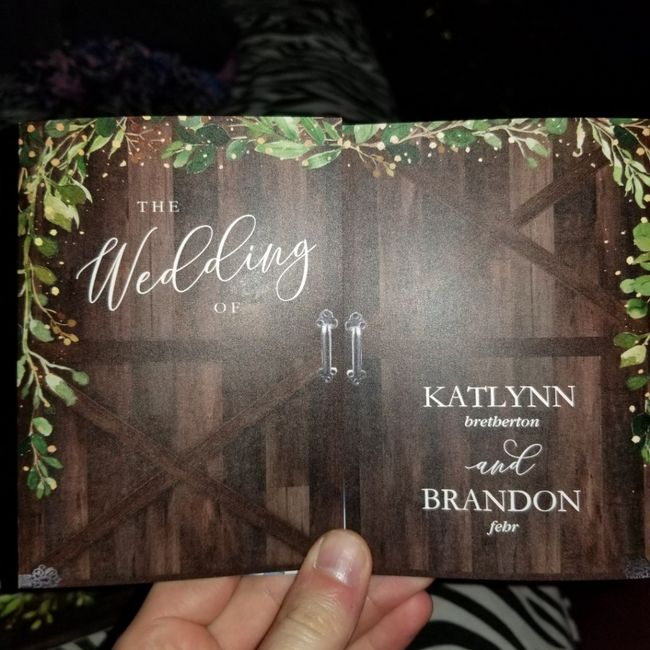 Wedding invitations - where did you get yours from? 2