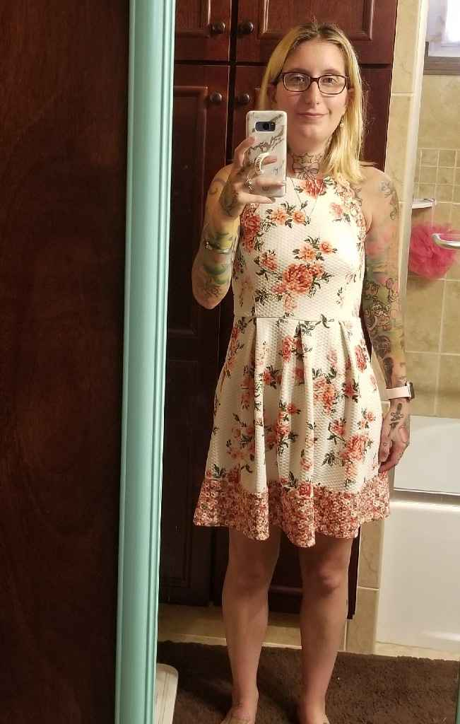 Bridal party dress - 1