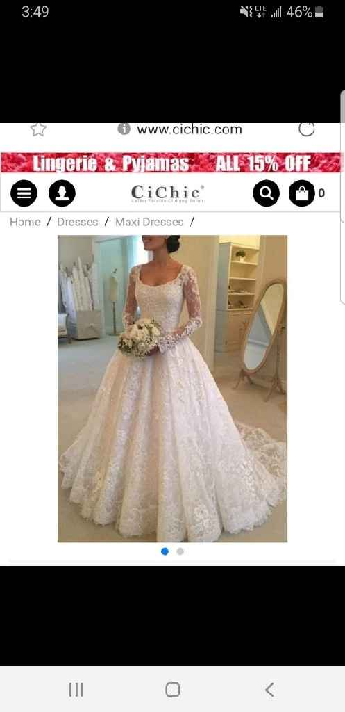 Buying a Dress Online - 1