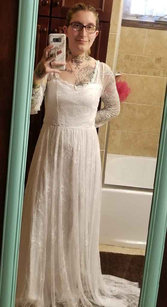 Buying a Dress Online - 2