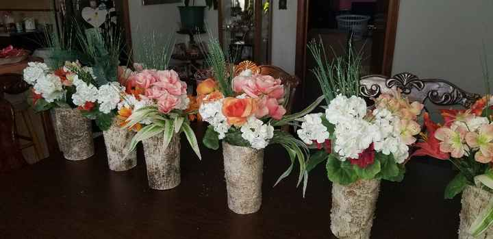 Dollar tree center pieces - 1