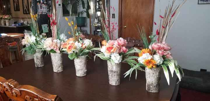 What did you choose for centerpieces? - 1