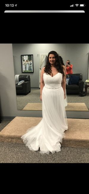 Tried on Dresses 5