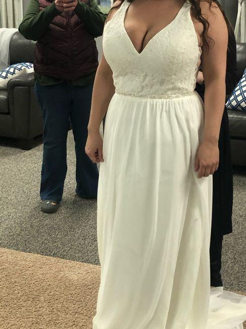 Tried on Dresses 7