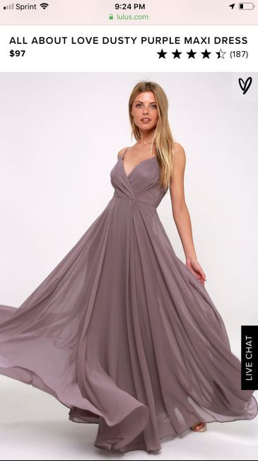 i Need Your Help! Picking colors for my bridesmaid dresses. 3