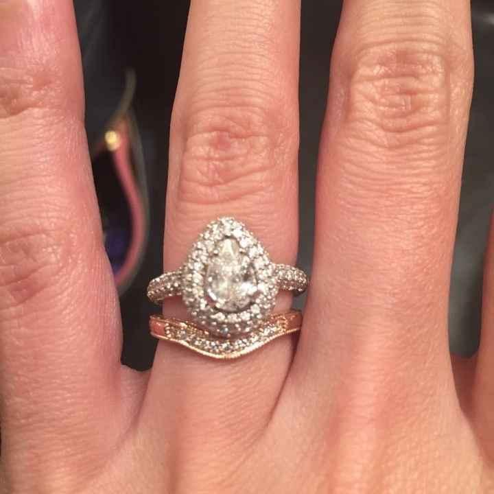 Mixing Metals For Rings Weddings Wedding Attire Wedding Forums Weddingwire