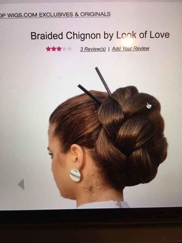 A hair piece for bride?