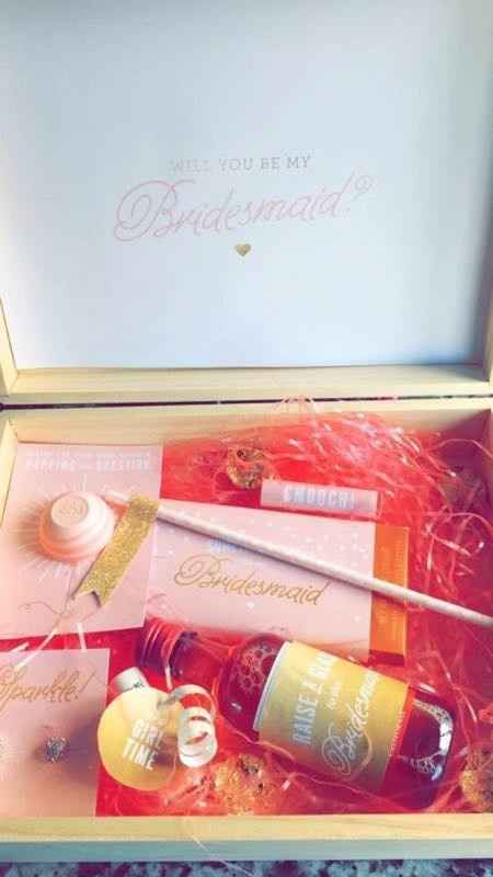 How did you ask your bridesmaids to be in your wedding?