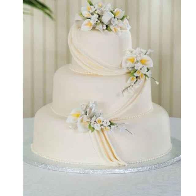 Deposit down for wedding cake !!